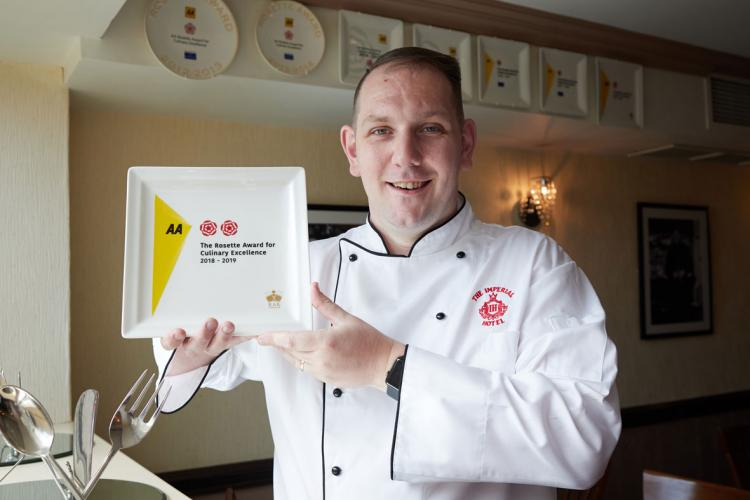 Two AA Rosettes for Cafe Cru
