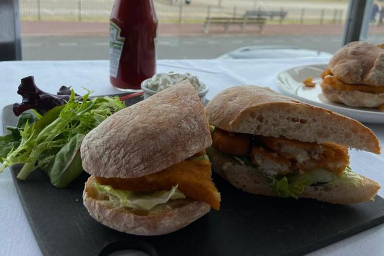 Fish finger sandwiches | Part of Great Yarmouth's heritage